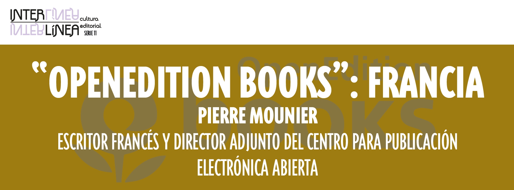 """OpenEdition Books"": Francia"